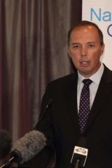 """Peter Dutton has been alleged to be """"spreading a carefully cultivated falsehood"""" and """"using scare tactics""""."""
