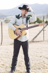 Broken dreams: Country singer Justin Standley, from Bundaberg, who has been performing at Tamworth, says he will have to get a ''real'' job to help pay the bills.