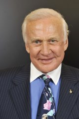 ''If we can see the horizon, we want to know what's beyond it,'' says Buzz Aldrin.