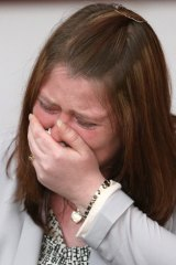 Widowed: Rebecca Rigby, the wife of murdered soldier Lee Rigby.