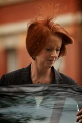 Preparing for a century of Asian growth ... Julia Gillard in Melbourne yesterday.