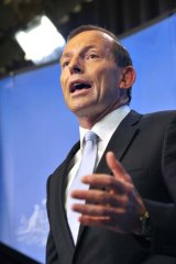 Tony Abbott: Facing problems from Indonesia.