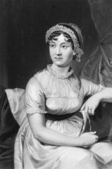 Caroline Knight's ancestor, the literary great Jane Austen.