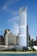 Audacious plan … the proposed hotel-casino at Barangaroo.