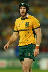 Wallabies and Brumbies centre Pat McCabe.