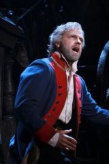 Simon Gleeson in the role of  the reformed convict Jean Valjean.