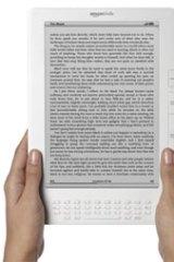 The Kindle DX 25 centimetre notebook.