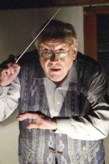 Czech music expert ...  Mackerras rehearses a Janacek opera in Brno in 2004.