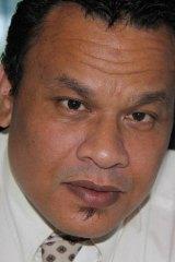 Sprent Dabwido, Nauru's third president in a week.