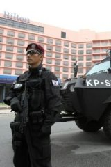 South Korean SWAT at a G20 meeting in 2010.