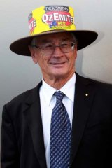 Campaigner: Dick Smith wants people to think about the consequences of not buying Australian.