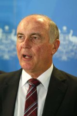 """""""We can't get everything that we would like"""": Warren Truss."""
