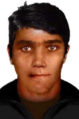 An image released by police in relation to a suspicious fire in Ivanhoe East.