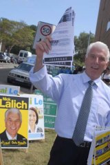 Nick Lalich ...  flyers claiming One Nation link.