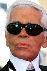 Master of barbed opinions, Chanel creative director, Karl Lagerfeld, 78.