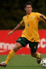 A-League-bound? Nathan Burns could be playing for the Newcastle Jets next season.