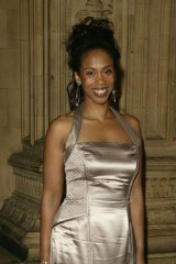 Trisha Goddard arrives at the 10th Anniversary National Television Awards in London in 2004.