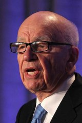 Facing more scrutiny: Rupert Murdoch.