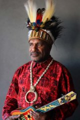 Benny Wenda of the Free West Papua advocacy group.