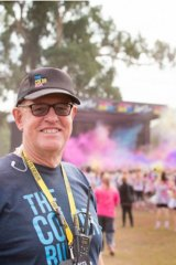 Graeme Hannan brought The Colour Run to Australia.
