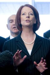 Multilateral approach ... Julia Gillard has proposed a regional processing centre.