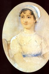 Enthralling ... a portrait of Jane Austen.