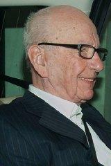 Political leverage spent ... Rupert Murdoch.
