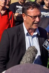 """We are looking at a potential recession all along the south-eastern seaboard"": AMWU's Dave Smith."