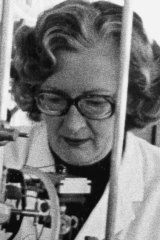 Shirley Freeman, pharmacologist, disarmament campaigner.