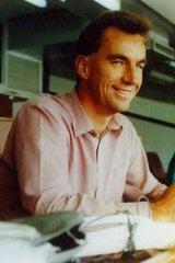 Peter Roebuck in 1993.