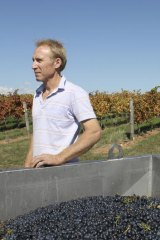 Mark Walpole produces award-winning sangiovese at his Greenstone vineyard.