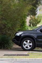 The car at the centre of the ICAC hearing.