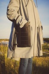 Pauline van Dongen's parka features solar panels that attach to the exterior of garment's pockets to charge electronic devices.