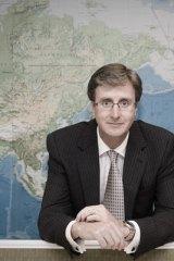 Simon Hickey ... new head of Qantas International.