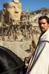 Christian Bale as Moses in Ridley Scott's 'Exodus: Gods and Kings'.