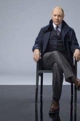 James Spader in <i>The Black List</i>.