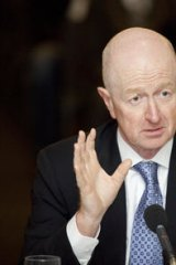 Going in to bat for the banks: Glenn Stevens, Governor of the Reserve Bank.