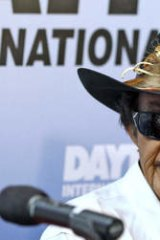 """Shooting from the hip: NASCAR Hall of Fame driver Richard Petty says Danica Patrick can only win a Sprint Cup Series race """"if everybody else stayed home""""."""