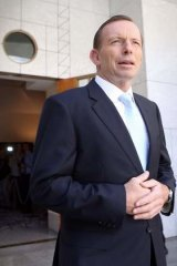 Prime Minister Tony Abbott has rejected an idea to make drivers pay a per kilometre tax to fund road infrastructure.