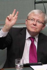 Available if you need him ... Kevin Rudd.