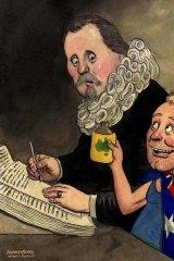 John Shakespeare illustration