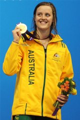 Ellie Cole shone at last year's Paralympic Games in London.
