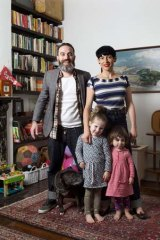 Mark Simpson, 38, and wife Lea, 35, with Scarlett, 4, and Delilah, 2.