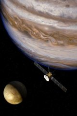 The Jupiter Icy Moons Explorer.