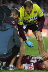"""""""A decision on Stewart's fitness will be made before the team travels to Brisbane""""."""