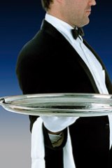 Butlers are back ... Luxury hotels are raising their rates as demand grows.