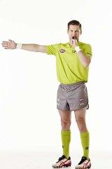 AFL umpire Simon Meredith.