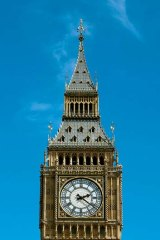 The leaning tower of Big Ben is becoming a real possibility.