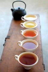 New rituals ... a selection of Tea Craft's range.