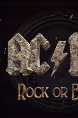 AC/DC album cover art.